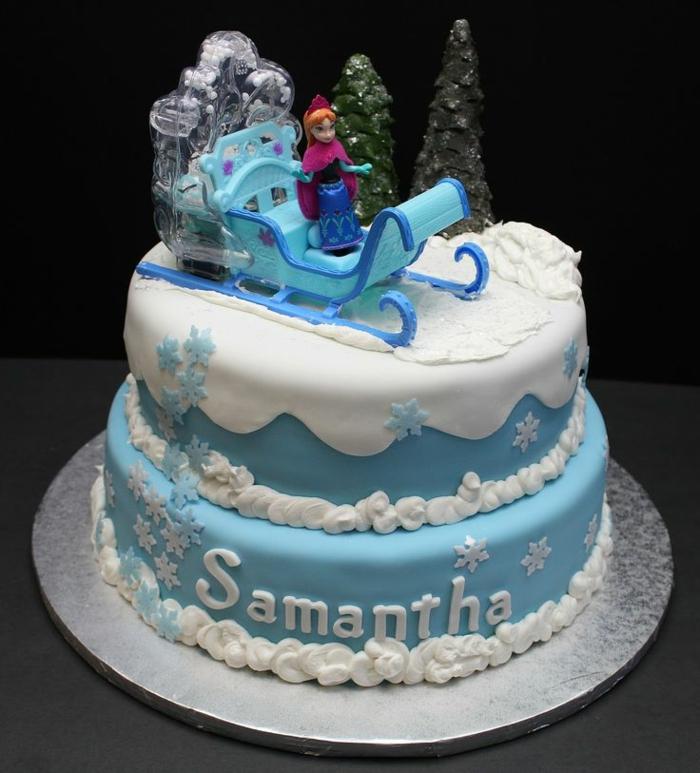 gateau-reine-des-neiges-pate-a-sucre-gâteau-la-reine-des-neiges-comment-faire-idée-avec-anna