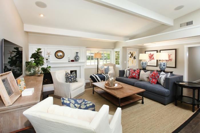 grand-tapis-pas-cher-pour-votre-salle-de-séjour-bien-aménagée-classique