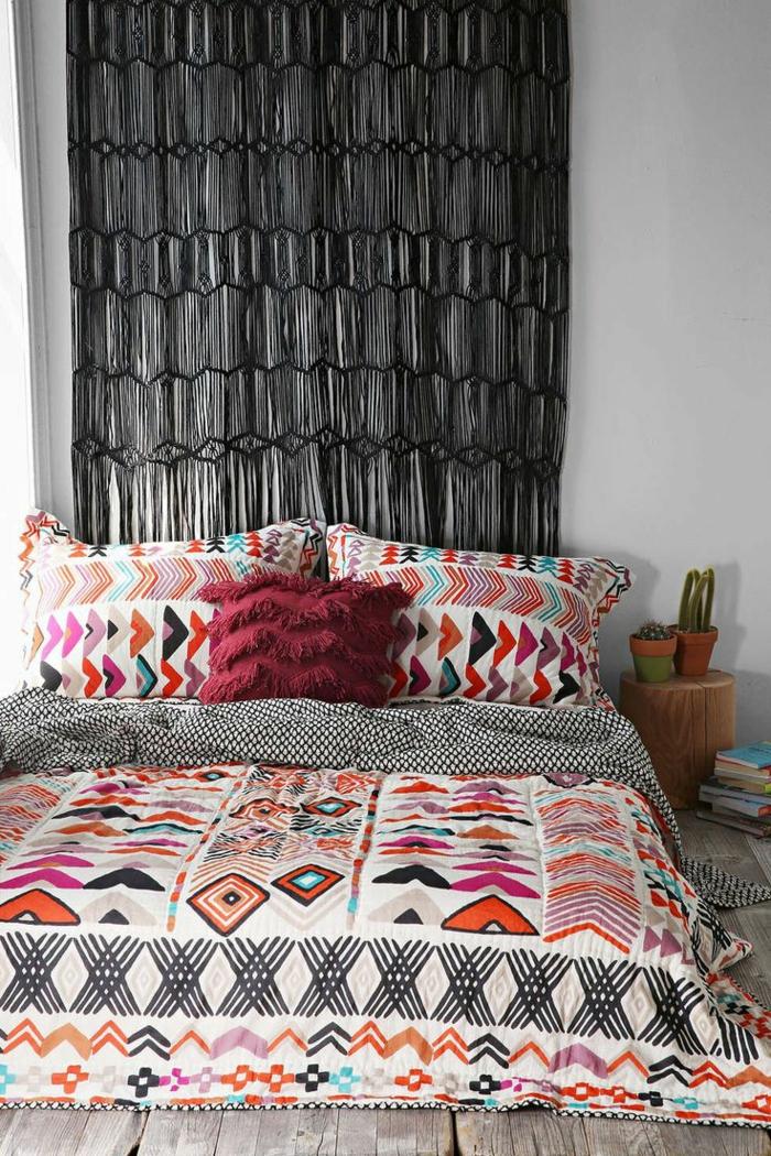 housse-de-couette-240x260-coloré-dans-la-chambre-à-coucher-linge-de-lit-coloré