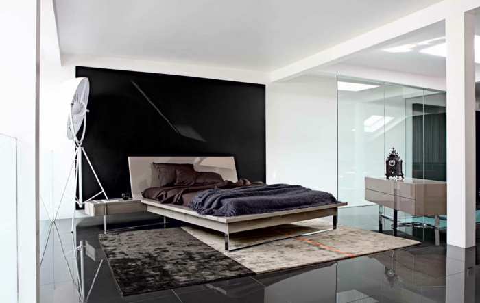 idées-déco-chambre-adulte-complete-lit-chambre-à-coucher-à-la-mode-chambre-tendance