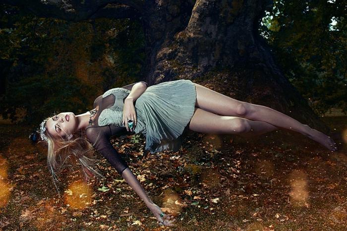idées-déco-la-belle-au-bois-dormant-dessin-animé-de-disney-aurore-un-foret-dans-le-bois-belle-dormant