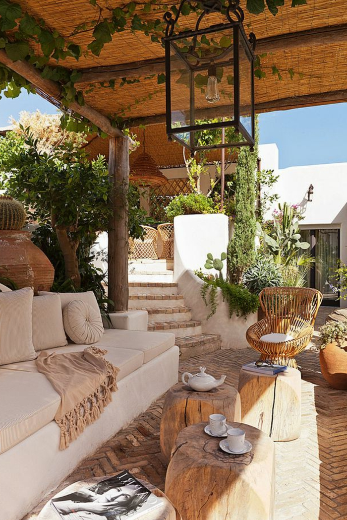 60 photos comment bien am nager sa terrasse for Decoration petit jardin maison