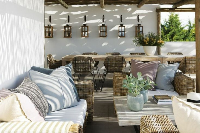 60 photos comment bien am nager sa terrasse for Idee amenagement jardin moderne