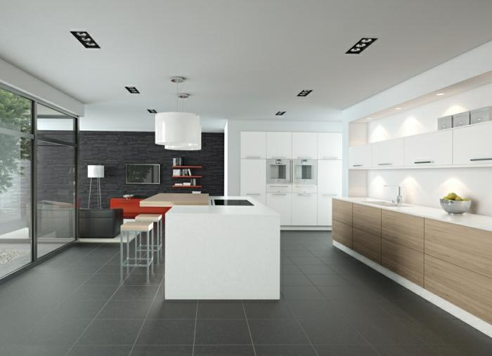 idee-deco-cuisine-blanche-laquée-design-d-intérieur-cuisine-cool ...