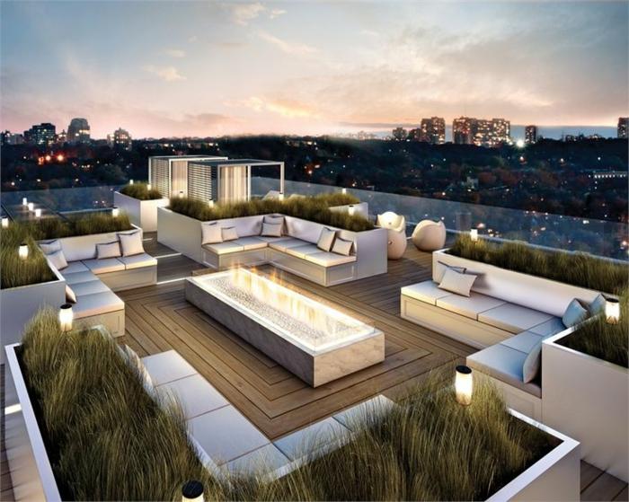 idee-deco-jardin-extérieur-amenagement-terrasse-extérieur-avec-une-belle-vue-vers-la-ville