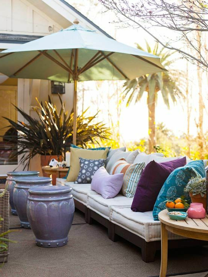 60 photos comment bien am nager sa terrasse for Idee amenagement jardin devant maison