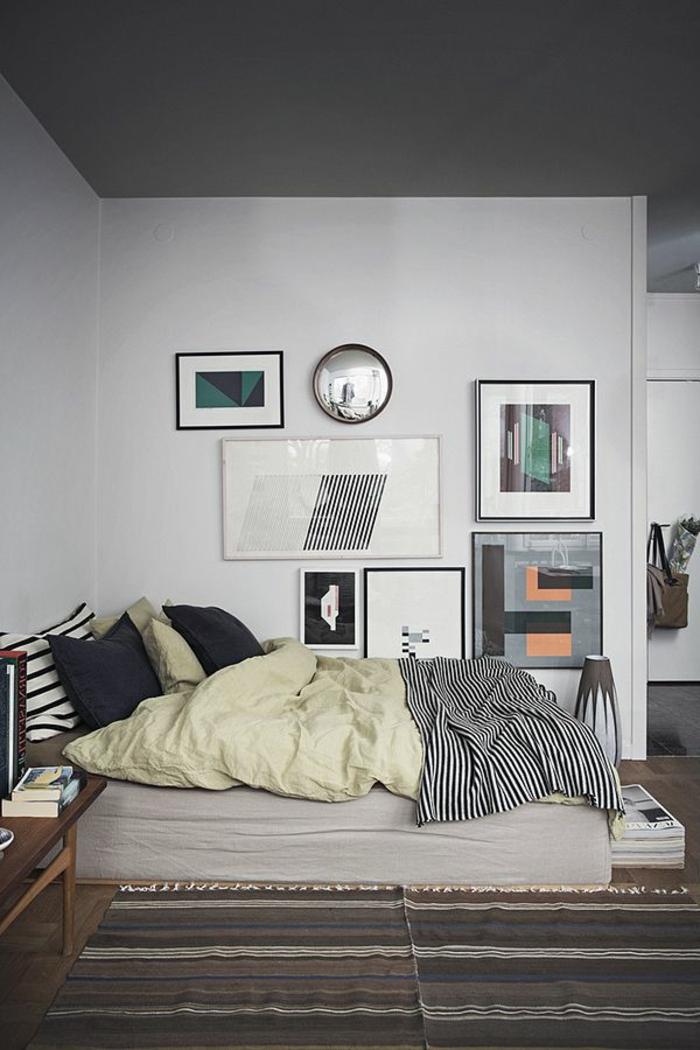 Choisir le meilleur tapis scandinave avec notre galerie - Deco chambre nordique ...
