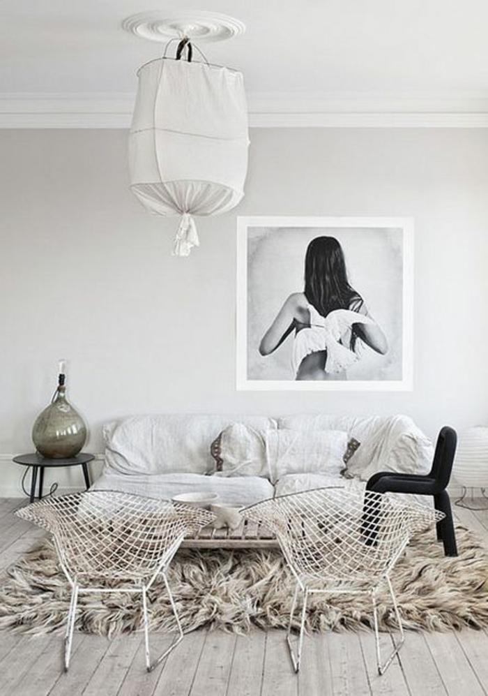 choisir le meilleur tapis scandinave avec notre galerie. Black Bedroom Furniture Sets. Home Design Ideas