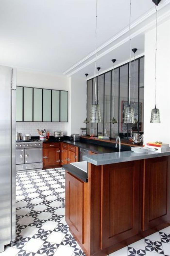 D couvrir la beaut de la petite cuisine ouverte for Cuisine 8m2 ouverte