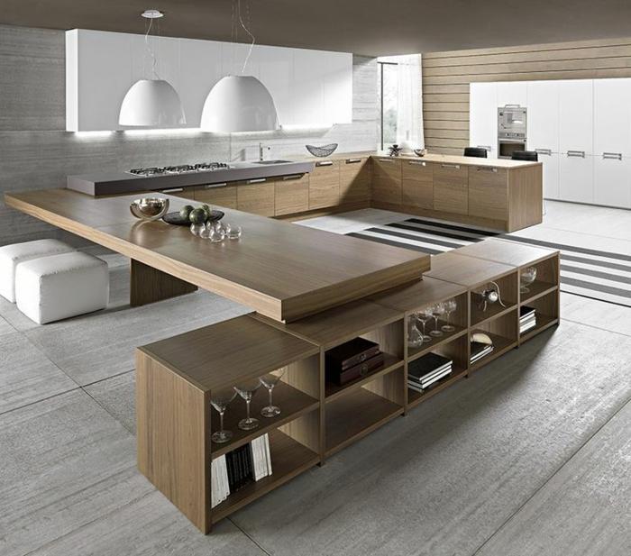 jolie-cuisine-zen-de-style-feng-shui-en-bambou-meuble-sol-gris-meubles-beiges