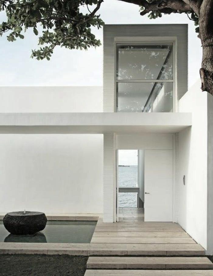 Le minimalisme en architecture contemporaine en 53 photos for Architecture de la maison blanche