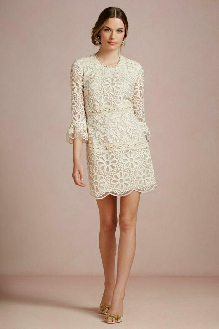 jolie-robe-en-dentelle-blanche-pour-les-filles-moderne-robe-de-soire-en-dentelle-courte