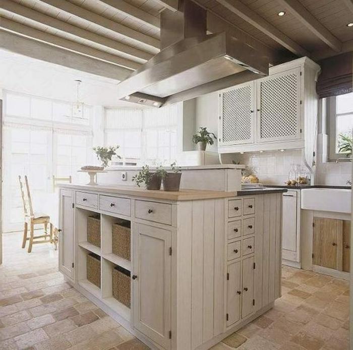 Cuisine ouverte sur salon petit espace maison design for Separation cuisine salon petit espace