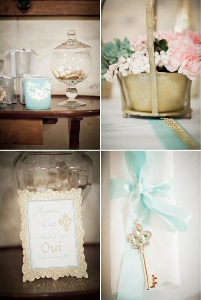 ... pour la salle – comment la décorer pour votre mariage conte de fée