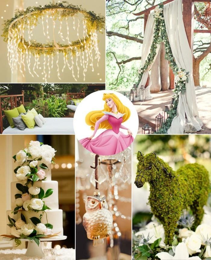 la-belle-au-bois-dormant-mariage-disney-gâteau-anniversaire-fille-aurore