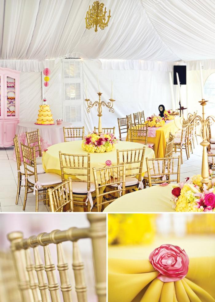 la-belle-et-la-bete-design-déco-anniversaire-disney-inspiration-idées-à-faire-soi-même-fête-déco-jaune-et-rose
