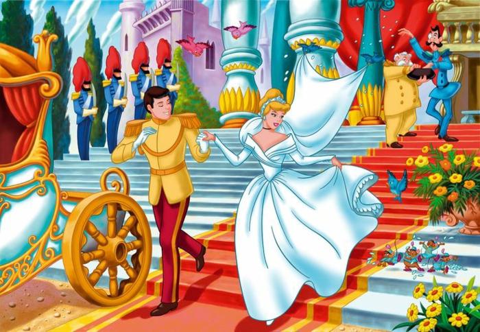 la-cendrillon-walt-Disney-deco-marriage-idées-à-faire-soi-même-l-animation-dessin-animé