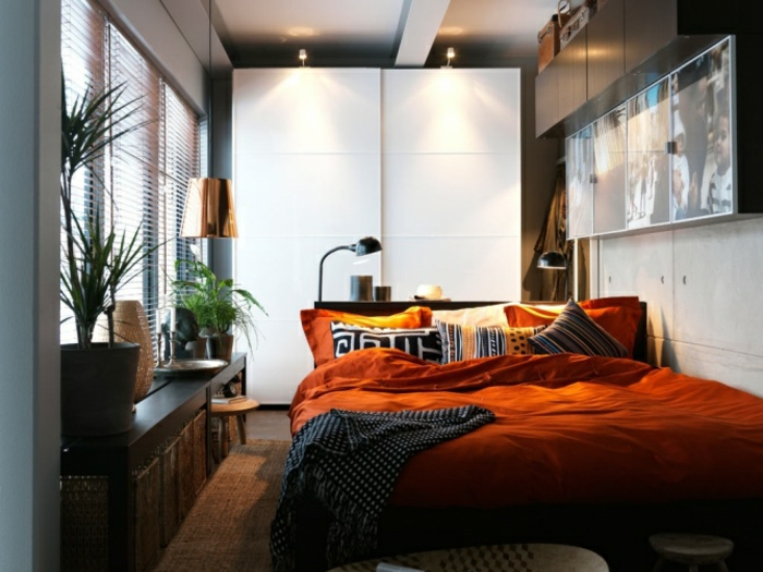 la-déco-chambre-adulte-en-tendance-lit-double-design-belle-petite