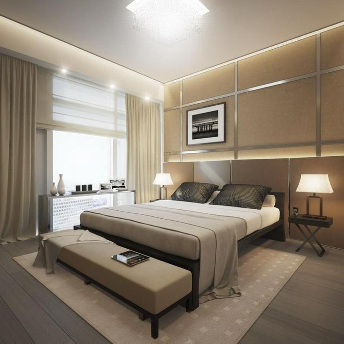la-déco-chambre-adulte-en-tendance-lit-double-design-luxeuse