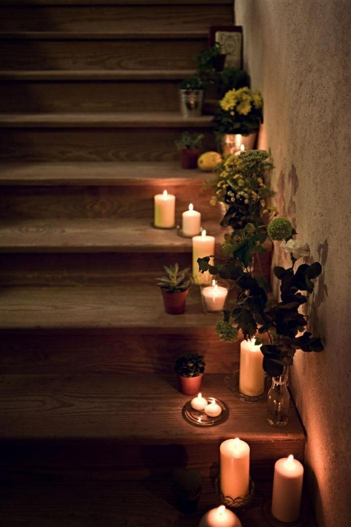 la-francaise-bougies-parfumées-naturelles-thérapie-aromate-escaliers