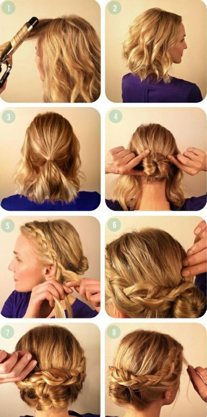 le-Chignon-flou-sur-cheveux-bouclés-coupe-cheveux-mi-long-2015-faire-soi-meme-resized