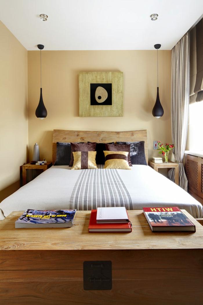 Choisir le meilleur lit adulte 40 belles id es for Idee rangement chambre petite
