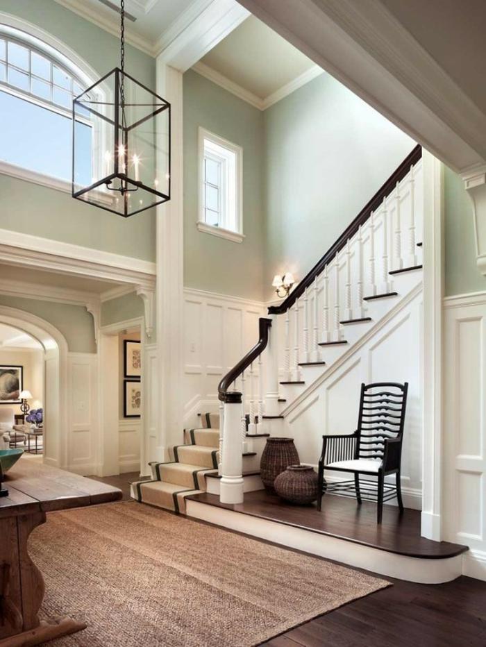 le-tapis-en-jonc-de-mer-salon-stylé-rustique-classique-originale-aménagement-lux-maison