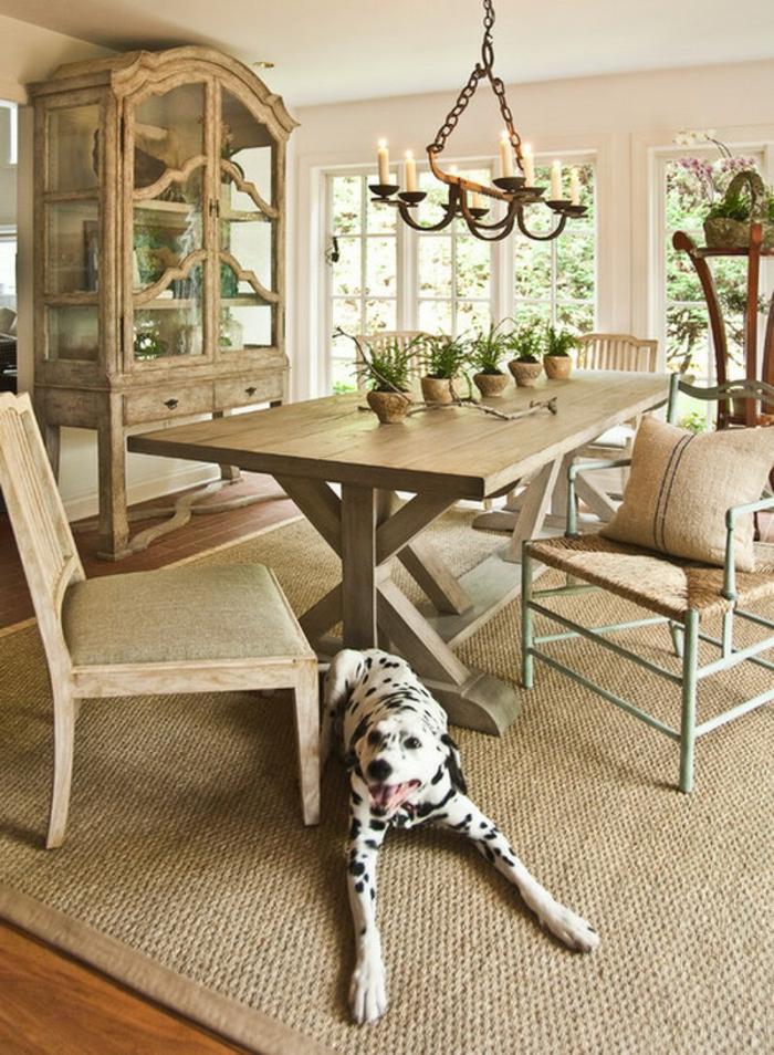 le-tapis-en-jonc-de-mer-salon-stylé-rustique-classique-originale-salle-à-manger