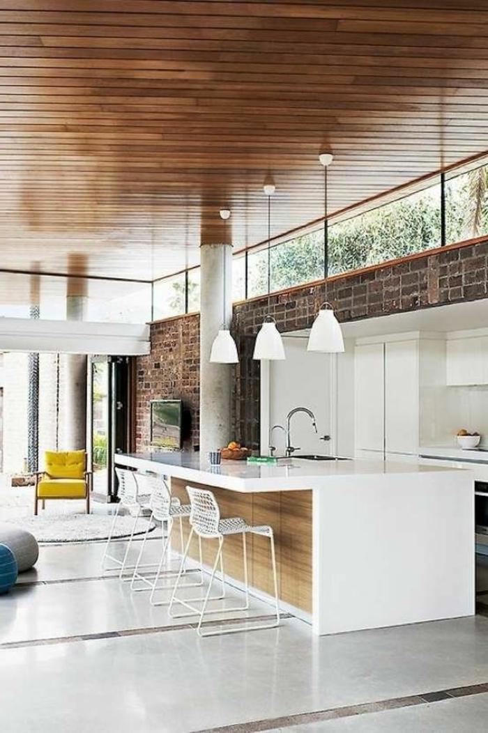 leroy-merlin-beton-ciré-dans-la-cuisine-ultra-chic-plafond-en-planchers-mur-de-briques