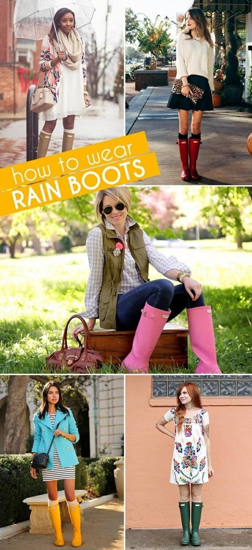 les-bottes-caoutchouc-bottines-de-pluie-femme-confort-comment-porter
