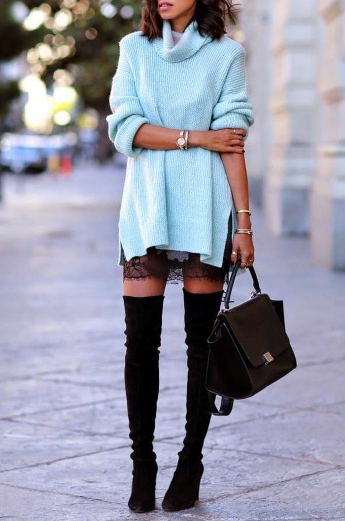 les-bottes-cavalières-noires-pour-les-femmes-modernes-quelles-bottes-noires-porter-pour-l-hiver-2016