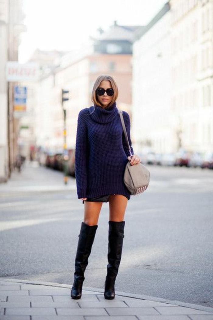 les-bottes-cavalières-noires-pour-les-femmes-modernes-quelles-bottes-noires-porter