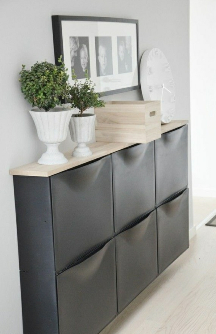d couvrir les meubles chaussures en 50 photos. Black Bedroom Furniture Sets. Home Design Ideas