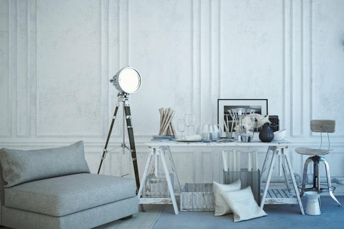 les-meubles-design-scandinave-tapis-scandinave-maison-scandinave-gris