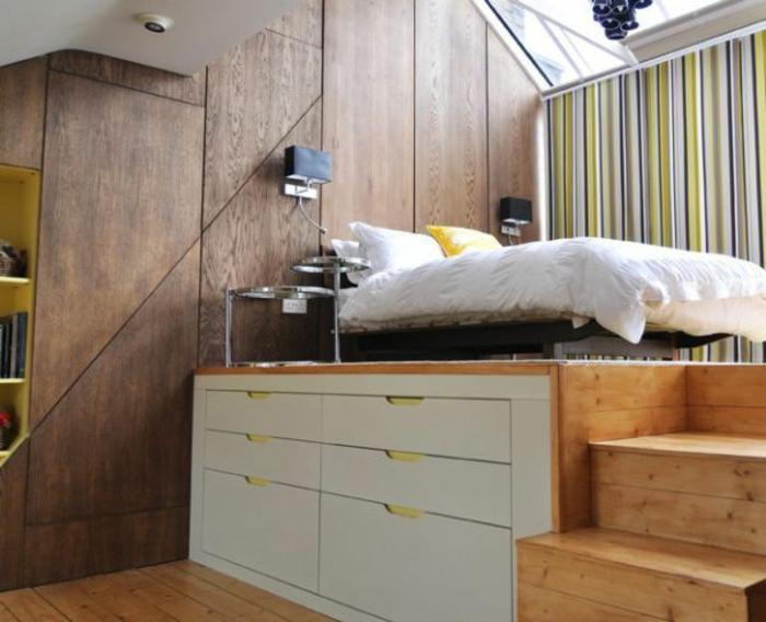 les-meubles-gain-de-place-dans-la-chambre-à-coucher-avec-un-lit-gain-de-place