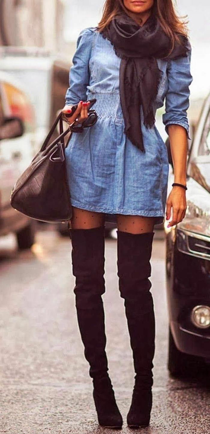 les-tendances-chez-les-bottes-pour-la-saison-2016-hiver-mode-bottes-mollets-larges-noires