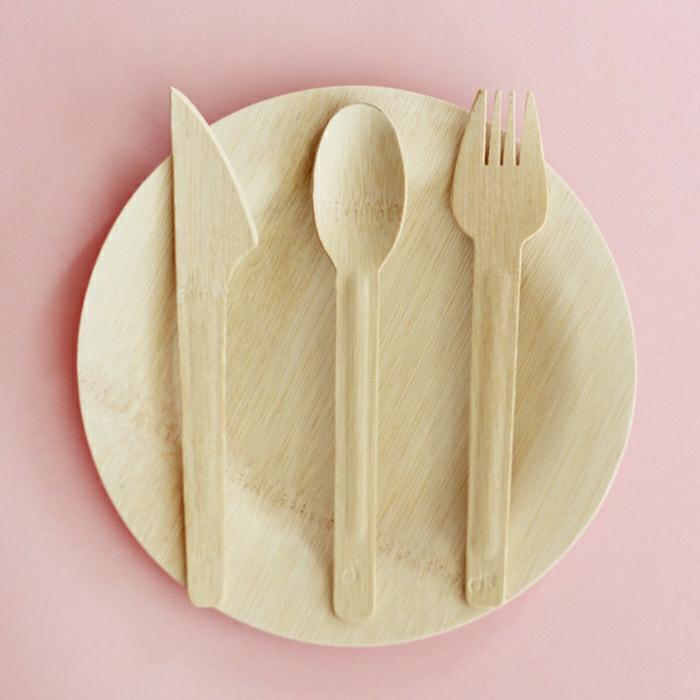 L 39 assiette bambou 45 id es originales - Cuisine rose pale ...