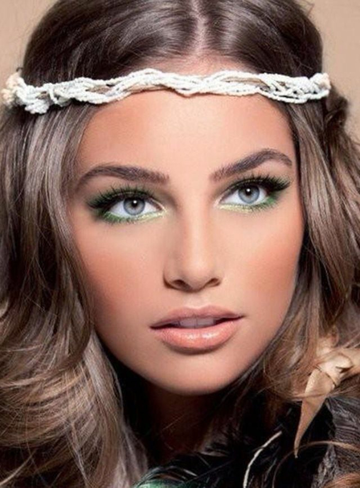 make-up-for-the-eyes-green-eyes-green-makeup-mascara-hair-resized