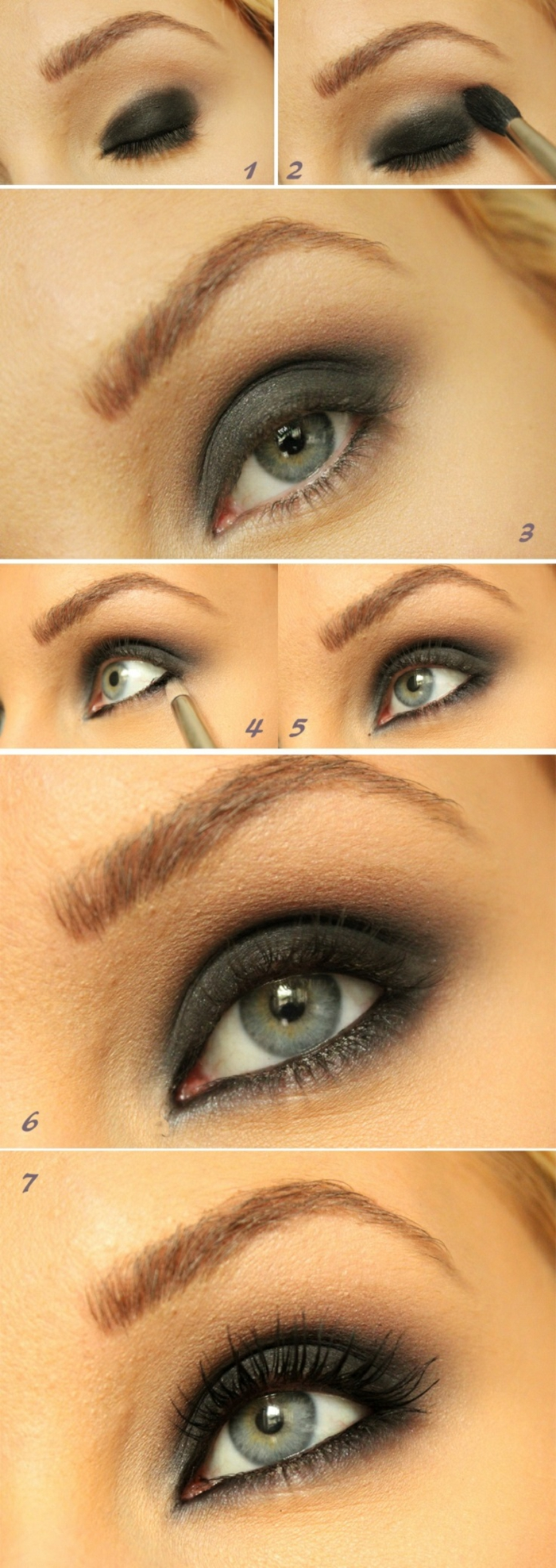 Makeup-eyes-green-brown make-night-eyes-green-steps-resized