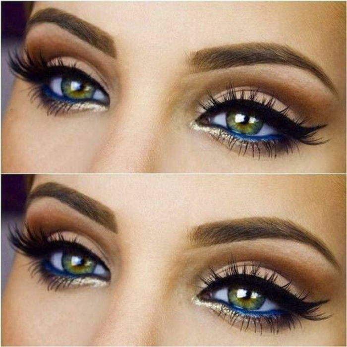 Makeup-eyes-green-dark-makeup-bride-eyes-open-the-eyes-resized