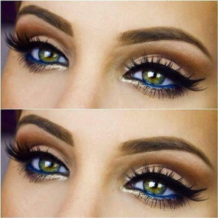 maquillage-yeux-verts-foncés-maquillage-mariée-yeux-verts-les-yeux-resized