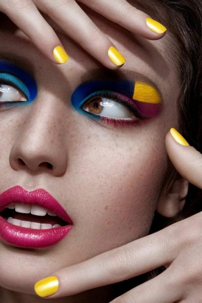 maquilleur-professionnel-pas-cher-et le-maquillage-artistique-professionnel-pour-les-filles-modernes-