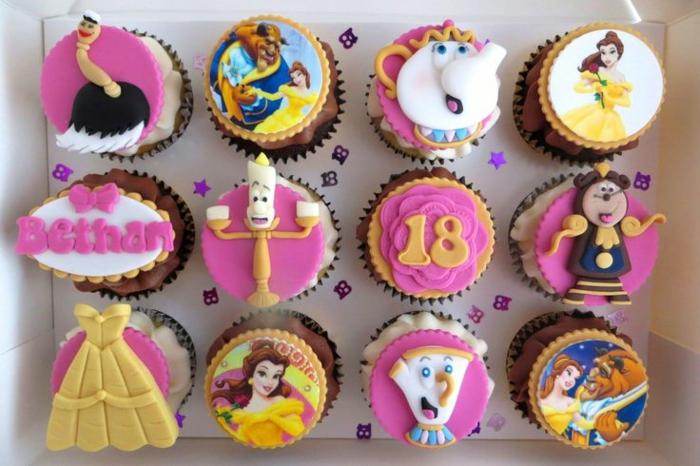 mariée-le-gâteau-de-mariage-inspiré-par-Belle-et-la-Bête-disney-cup-cakes