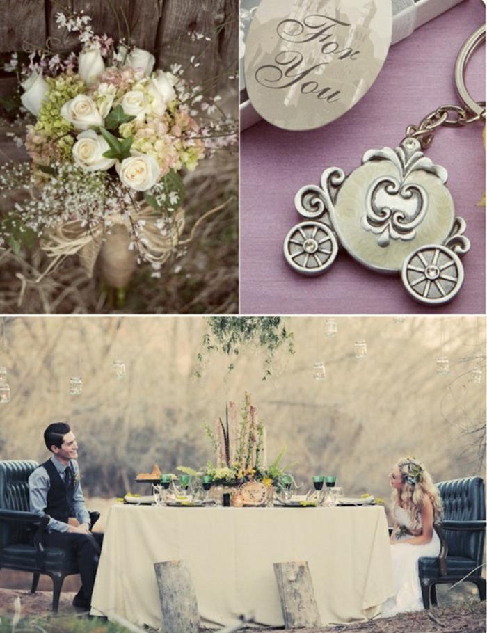 mariage-cendrillon-chaussure-idée-robe-de-mariée-theme-mariage-original-conte-de-fée
