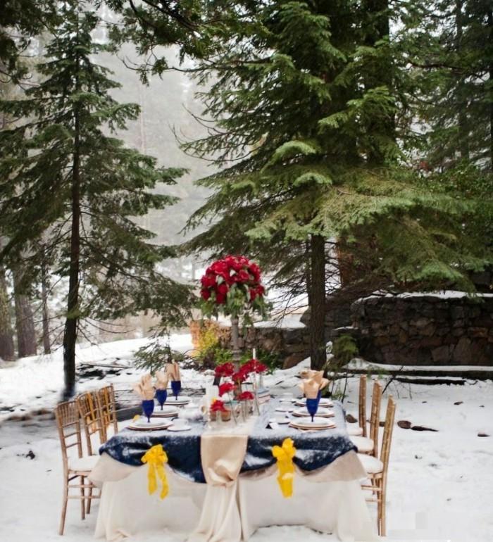 mariage-conte-de-fée-la-belle-et-la-bête-disney-déco-festive-décoration-table-belle-hiver