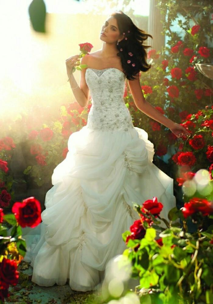 mariage,robe,de,mariage,princesse,de,Disney,Belle,