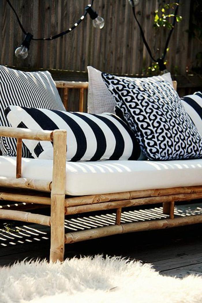 Jolies variantes pas cher pour un meuble en bambou - Matelas pour banquette jardin ...