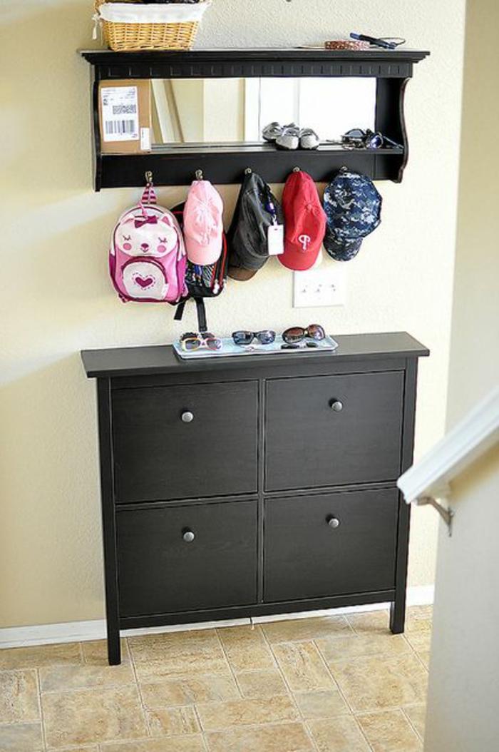 d couvrir les meubles chaussures en 50 photos. Black Bedroom Furniture Sets. Home Design Ideas