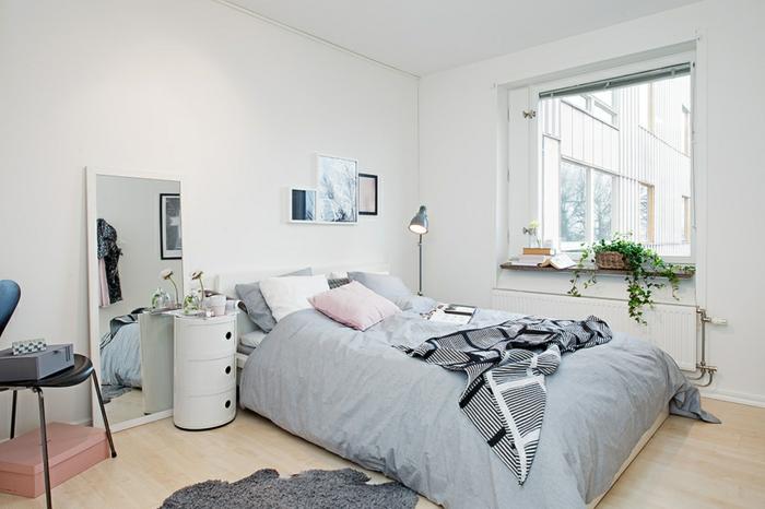 meubles-design-scandinave-tapis-scandinave-maison-scandinave-chambre-à-coucher