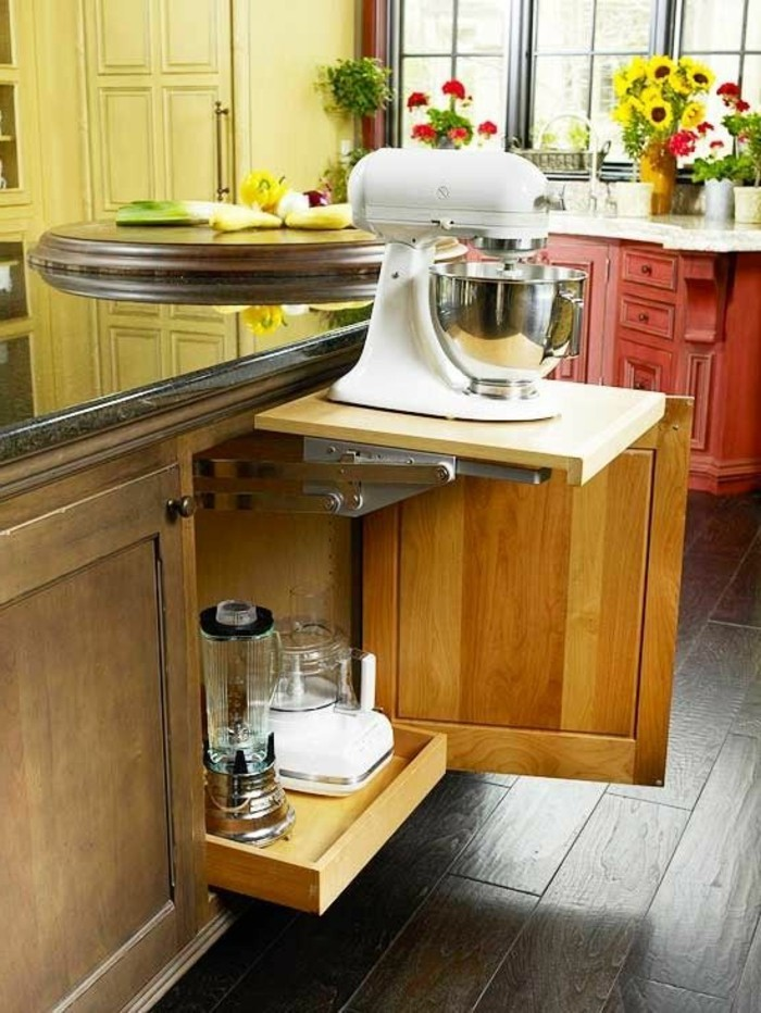Gain de place cuisine id es de for Table gain de place pour cuisine